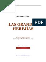 Hilaire Belloc Las Grandes Herejias