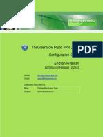 Endian Firewall UTM & GreenBow IPSec VPN Client Software Configuration