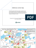 Subdivision Activity Maps