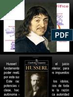 Fenomenología de Husserl