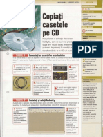Transformarea casetelor audio in format mp3 sau wav