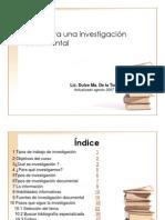 Investigacion Documental