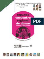 Programa General Segundo Encuentro Regional de Danza