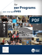 Volunteer Programs in Archives