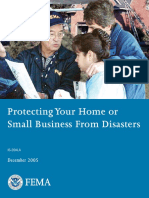 protecting home business disaster