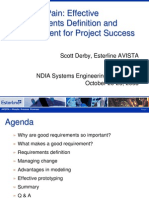Effective Requirements Definition and Management for Project Success
