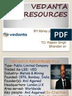 Vedanta Resources plc.