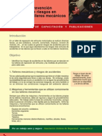 Prevencion de Riesgos en Talleres Mecanicos