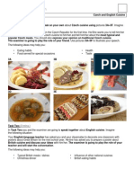 English Speaking Activity Task 11_V_Czech and English Cuisine (2012_new)