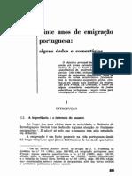 Vinte Anos de Emigração Portuguesa - Alguns Dados e Comentários - M L Marinho Antunes.pdf