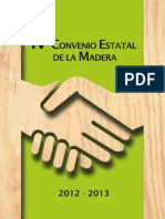 Convenio Sector Madera 2012-2013