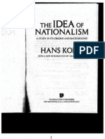 The Idea of Nationalism Intro