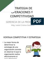 2. Estrategia de Operaciones y Competitividad