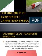 Documentos de Transporte Carretero en Bolvia