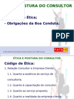 Aula 6 - Ética e Postura Do Consultor