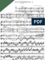 Piano Concerto no3 1st Mov