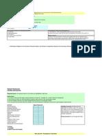 Sample Budget Worksheets for a Restaurant 12 Month Budget