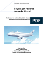 Liquid Hydrogen Powered Commercial Aircraft