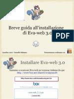 Guida all'installazione di eva-web 3.0