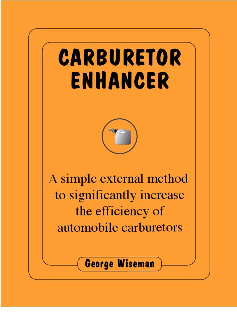 Carburetor enhancer manual preview carburetor throttle fandeluxe Image collections