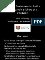 David Schlosberg EHP Conference
