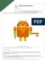 Seguridad y Hacking … Desde Android Parte I « Android « Sistemas Operativos «