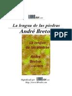 Andre Breton - La Lengua De Las Piedras.pdf