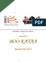 Boo Kataa Basant Festival [Proposal]