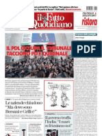 Il Fatto quotidiano 12-03-2013
