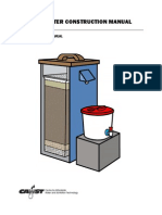 Biosand Filter Construction Manual 2012
