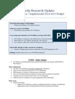 Dayton Supplemental Budget