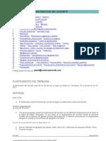 Características del Concreto