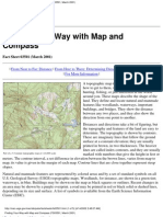 using your map and compass