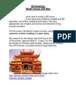 3D Graphics Model House