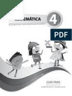 Guia Matematica Cuarto Ano