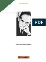 (ebook - ITA - NARR) Ortega y Gasset, José - Arte di questo mondo (PDF)