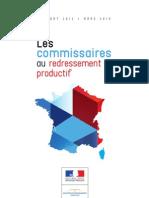 Rapport Annuel 2012 Commissaires Redressement Productif