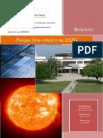 Relatório Parque fotovoltaico