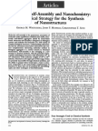 1991_science_Molecular Self-Assembly and Nanochemistry a Chemical Strategy for the Synthesis of Nanostructures