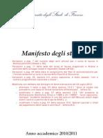 Manifesto Studi 10-11