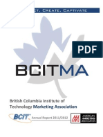 British Columbia Institute of Technology Annual Report 2012 (1)