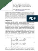 Analisis Dinamik Model Matematika Penyebaran Penyakit Menular Tipe SEIS Melalui Transportasi Antar-Dua Kota