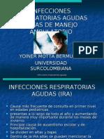 Infecciones Respiratorias Agudas de Manejo Ambulatorio - YOINER MOTTA BERMUDEZ
