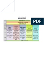 CIE42 PROGRAMME-Evaluation of Entry and Penetration Strategies