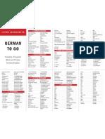 German ToGo