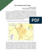 Notas sobre el paisaje en Huánuco Pampa