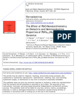 Effect of PbO-Nonstoichiometry