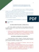 Análise das Propostas da gestão 2009-2013