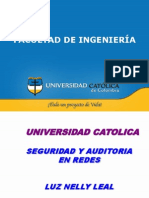 Auditoria a Redes
