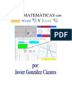 Matematicas Con Word y Excel PDF